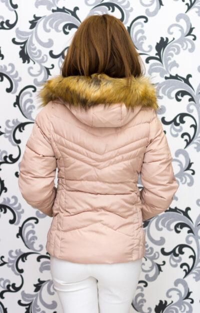 Зимно късо яке - бежово 2