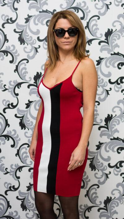 Плетена дамска рокля
