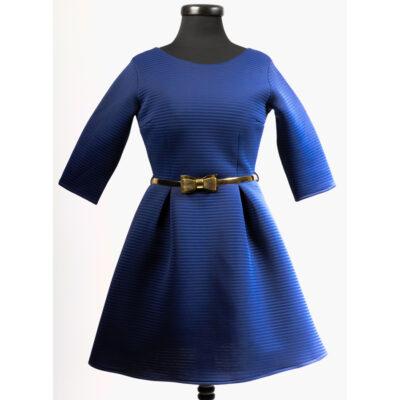 Синя дамска рокля 1