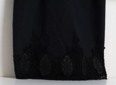 Официална дамска рокля - тъмносиня 4
