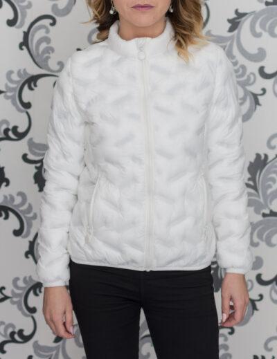 Пролетно тънко яке в бял цвят
