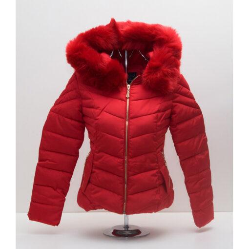 Червено яке с пух 3