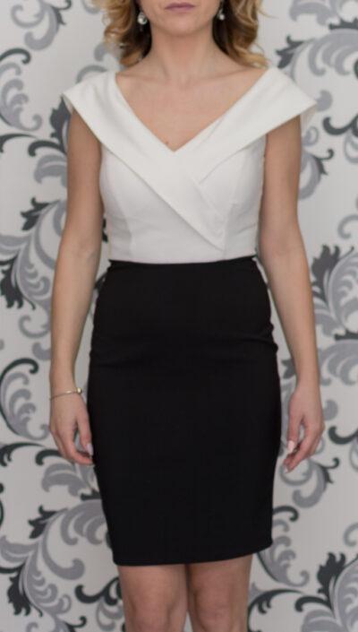 Вталена дамска рокля Фервенте