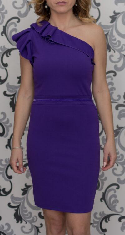 Дамска рокля в лилаво