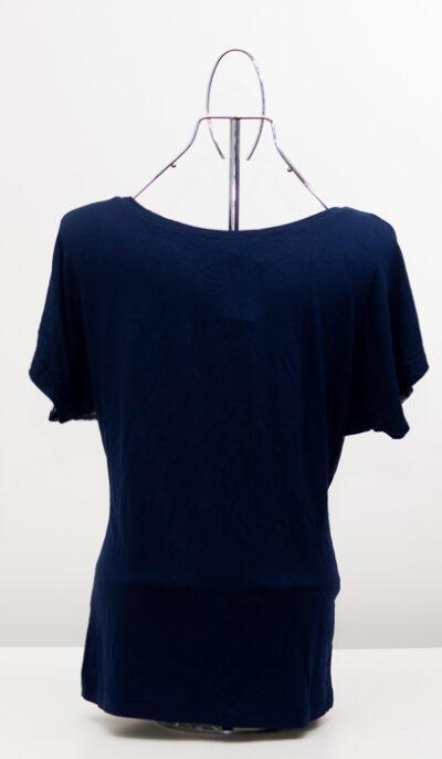 Блуза с лимони - тъмносиня 3