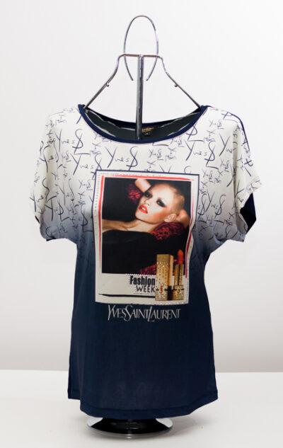 Дамска блуза -реплика на моден бранд 1