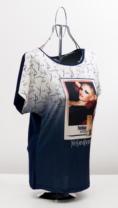 Дамска блуза -реплика на моден бранд 2