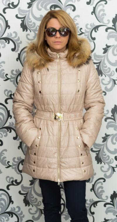 дамско яке с гъши пух
