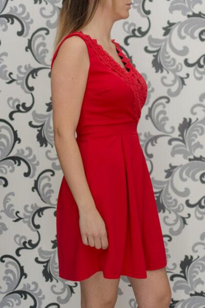 Дамска червена рокля