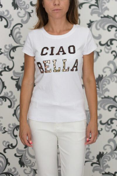 дамска блуза- бяла