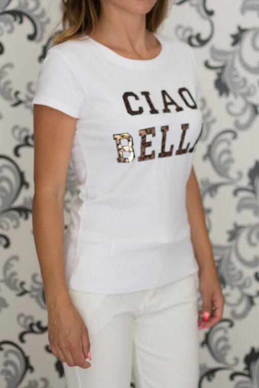 Дамска бяла блуза