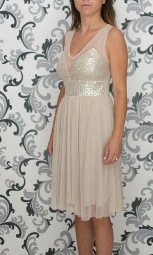 Официална златиста рокля