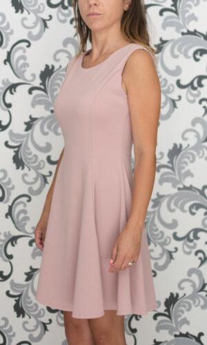 Розова рокля - разкроена