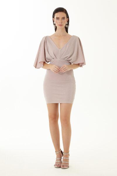 Fervente - розова рокля