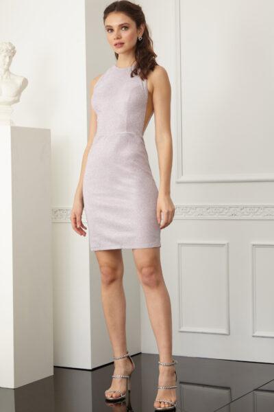 Дамска рокля - розова