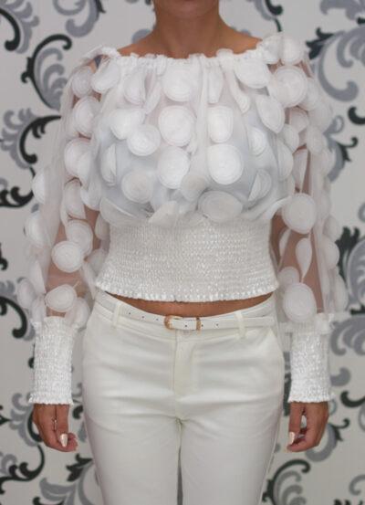 Блуза с декорация