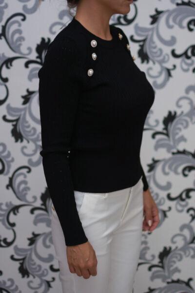 Черна блуза - модел 2020