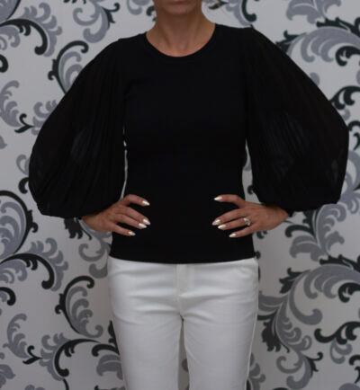 Дамска блуза - фино плетиво