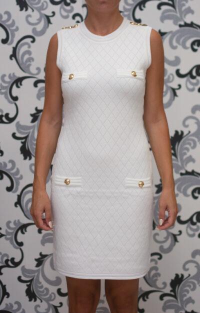 Бяла къса рокля