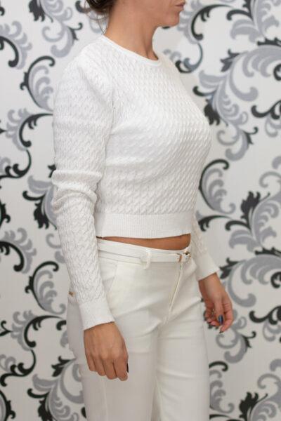 Дамска блуза - бяла