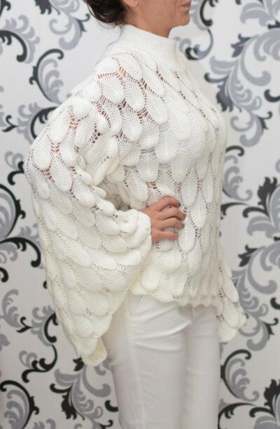 Плетена ажурена блуза