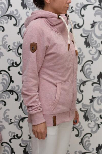 накетано - розов суичър