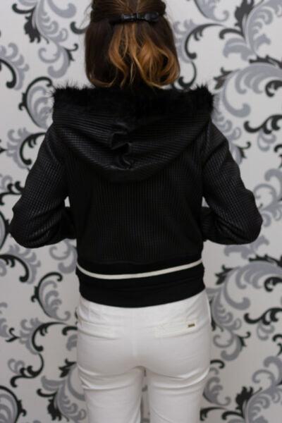 Кожено черно яке