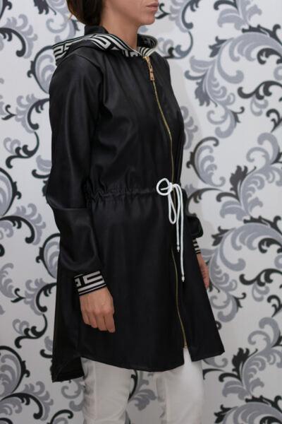 Черно кожено якес