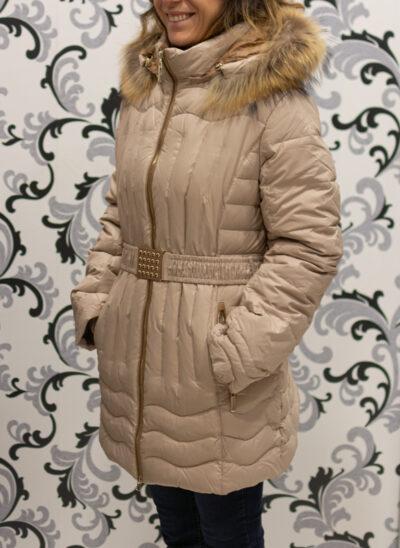 Зимно яке с гъши пух