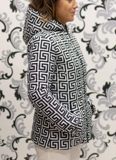 дамско яке с качулка