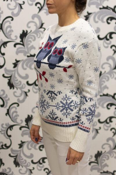 коледен пуловер - вълнен