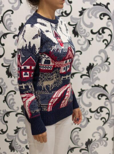 Коледен пуловер - дамски