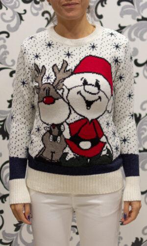 Пуловер с дядо коледа
