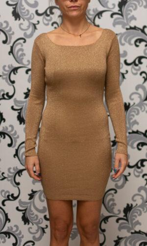 Плетена рокля - камел