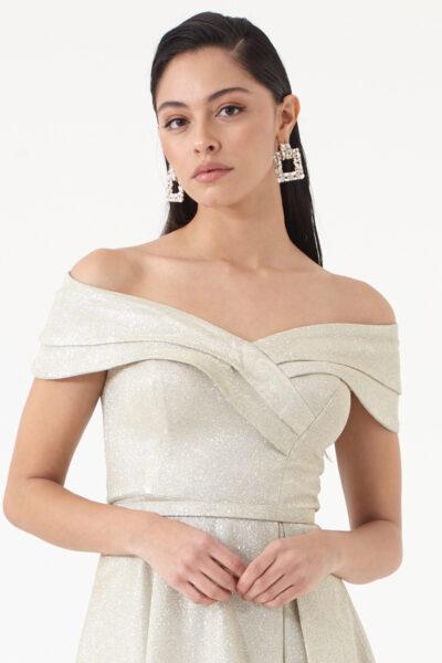 златиста рокля Фервенте