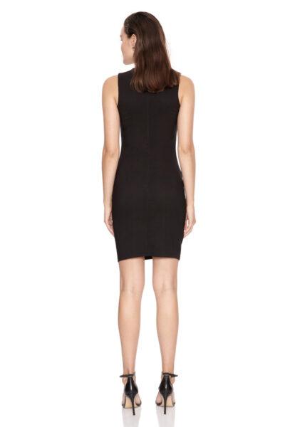 дамска рокля - черна