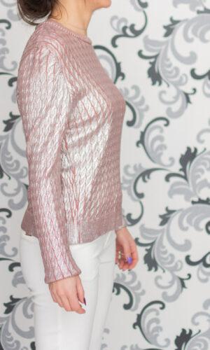 дамска розова блуза