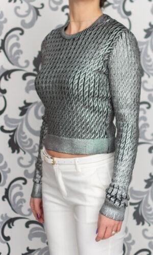 Плетена дамска блуза