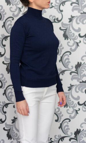 Плетена блуза - полуполо