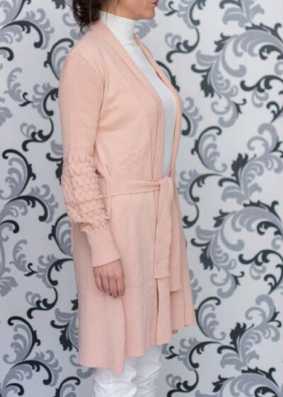 дамска жилетка в розово