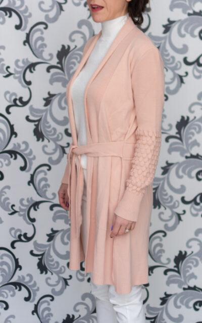 Розова дамска жилетка
