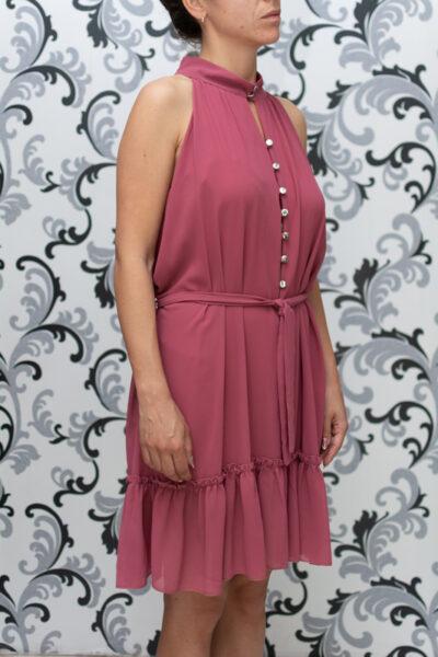 Дамска рокля - пепел от рози 3