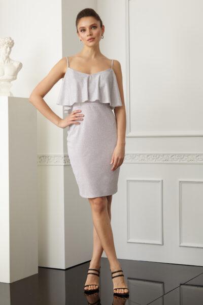 Дамска рокля с тънки презрамки - Fervente 1
