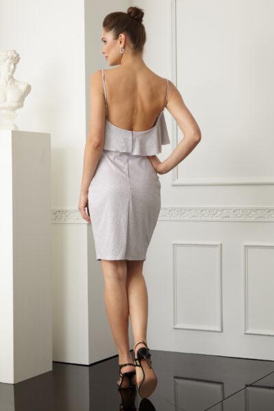 Дамска рокля с тънки презрамки - Fervente 2