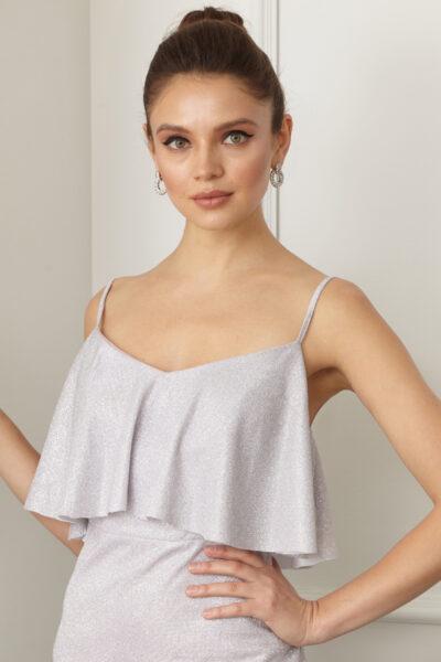 Дамска рокля с тънки презрамки - Fervente 3