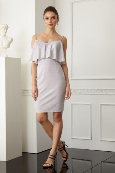 Дамска рокля с тънки презрамки - Fervente 4