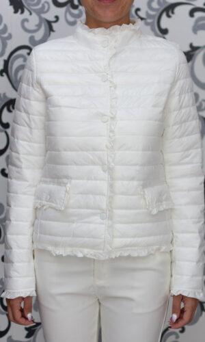 тънко бяло яке