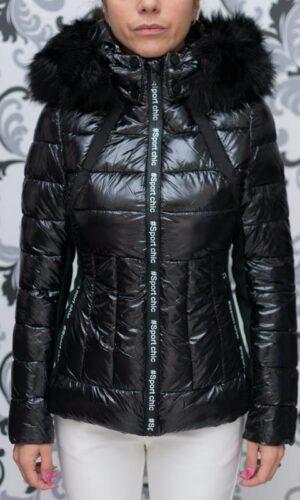 Черно яке с качулка